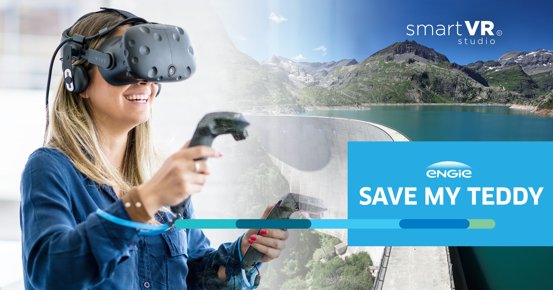 agence realite virtuelle communication brand content save my teddy engie studio vr engie